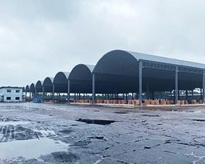 拱形屋顶制作安装